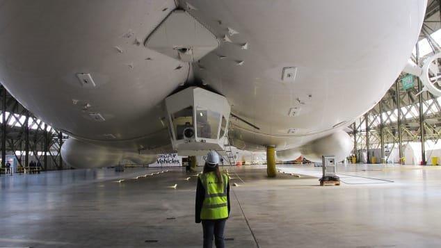 بزرگ ترین کشتی هوایی دنیا را ببینید