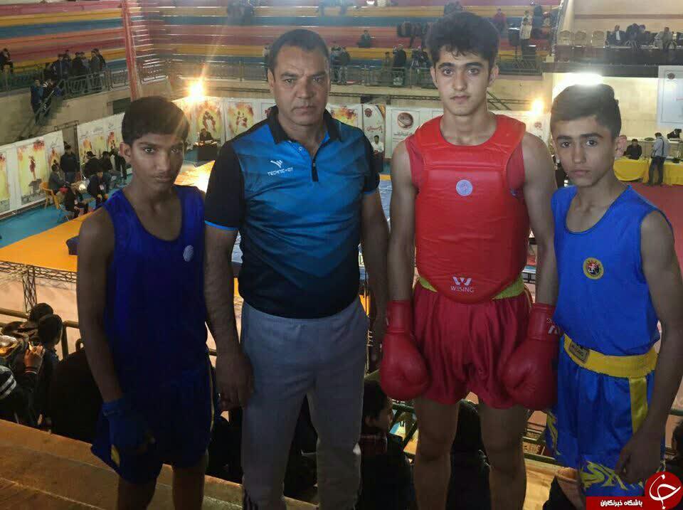 سانداکاران کرمانی بر سکوی سوم رقابت های ووشو قهرمانی کشور