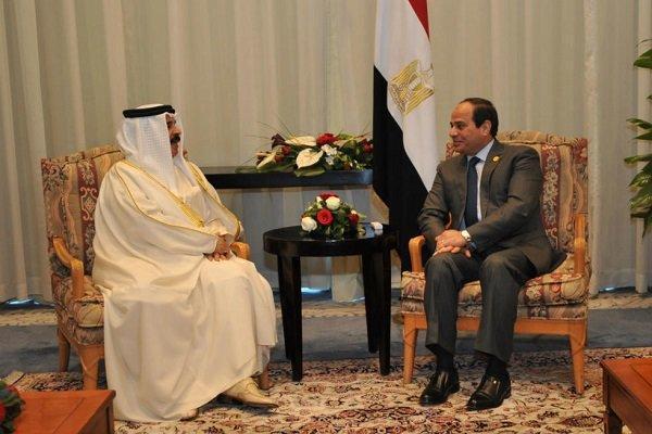 رایزنی سیسی و پادشاه بحرین درباره تحولات منطقه