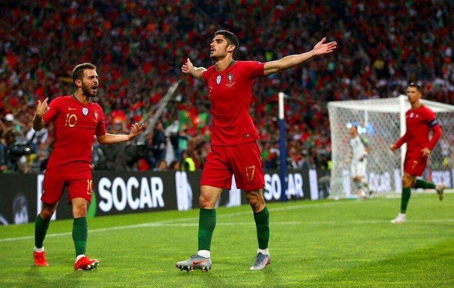 پرتغال قهرمان لیگ ملت های اروپا شد