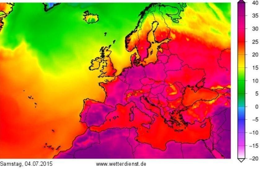 مرگ 10 هزار نفر بر اثر گرما در آلمان در سال 2018
