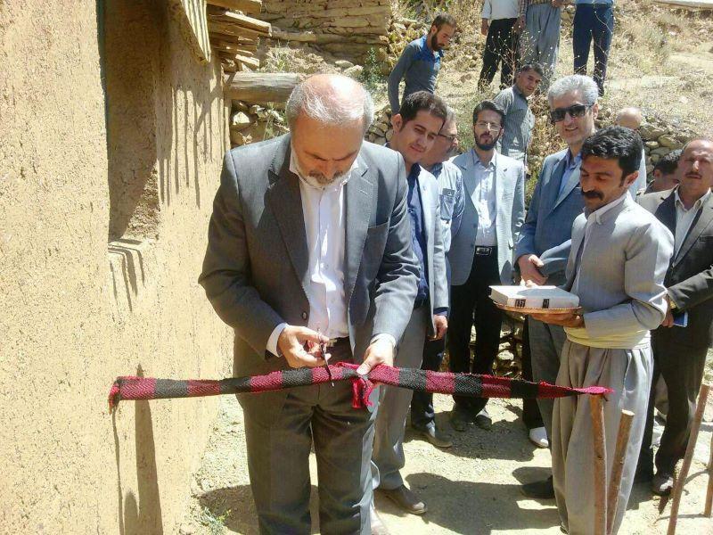 افتتاح اقامتگاه بوم گردی ژوانگه در روستای هدف گردشگری شیان