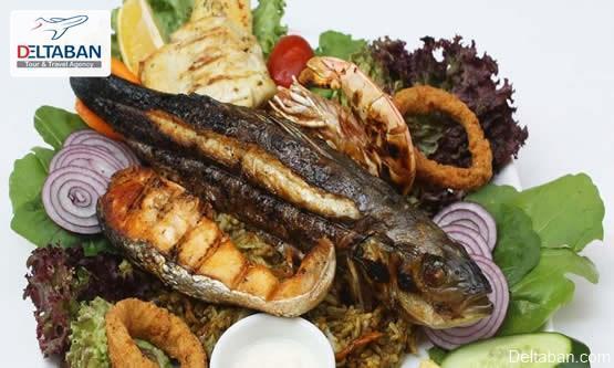 آنالیز دقیق و کامل غذاهای دریایی استانبول