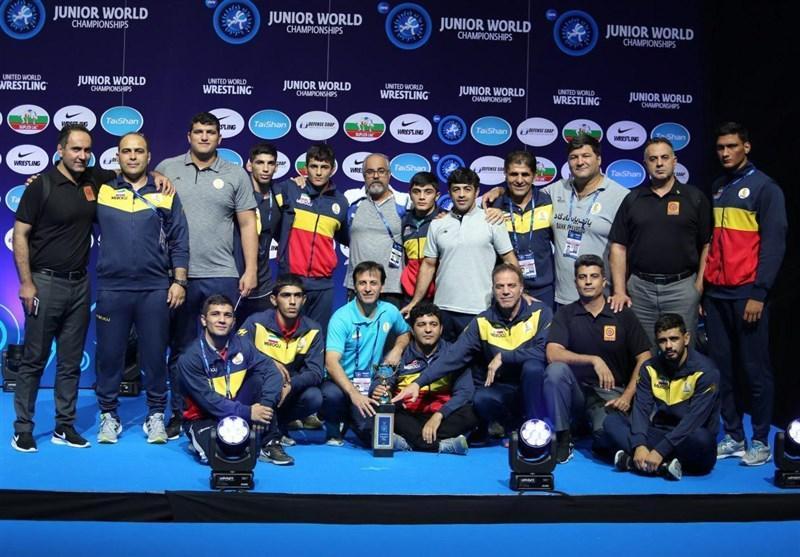 کشتی فرنگی جوانان دنیا، ایران نایب قهرمان شد