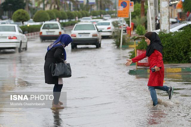 تداوم بارش باران در شمال کشور تا سرانجام هفته