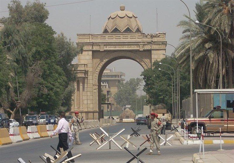 اصابت راکت به منطقه خضراء بغداد