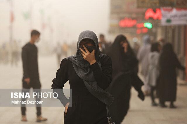 خاک خارجی در راه خوزستان