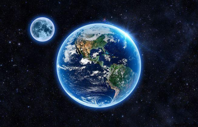 میزان اکسیژن زمین و ماه یکسان نیست