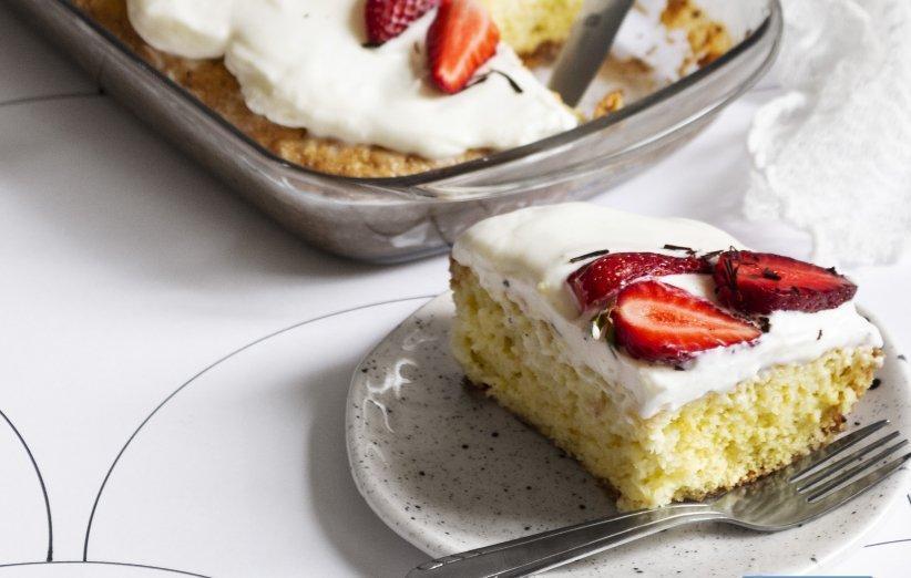 چطور کیک سه شیر درست کنیم؟