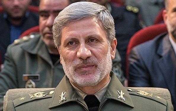 تبریک امیر حاتمی به وزیران دفاع کشور های اسلامی به مناسبت عید فطر