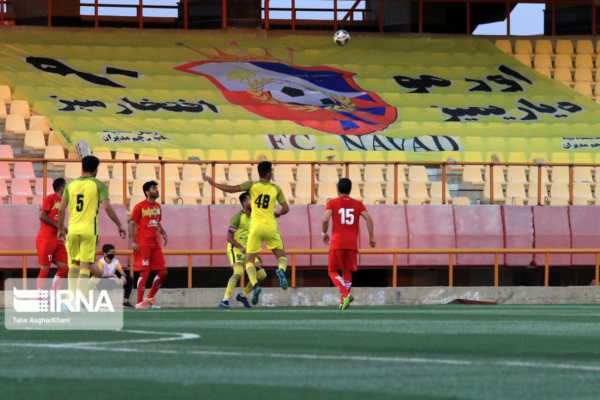 خبرنگاران امیدهای 90 ارومیه برای صعود به لیگ برتر فوتبال کشور کمرنگ تر شد