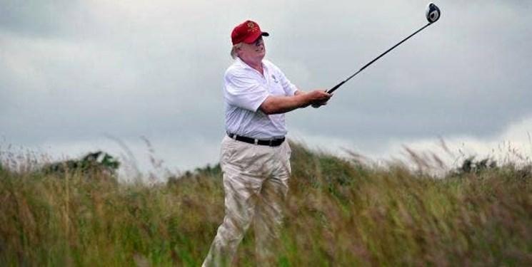 مجری سرشناس انگلیسی: آمریکایی ها هر روز بر اثر کرونا می میرند، ترامپ گُلف بازی می نماید