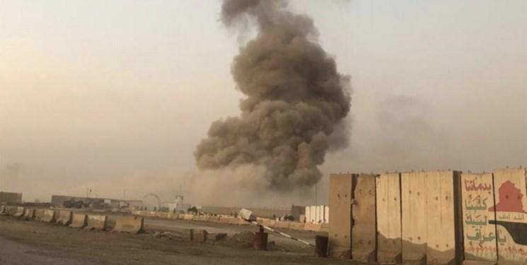 وقوع انفجار در پادگانی در جنوب بغداد