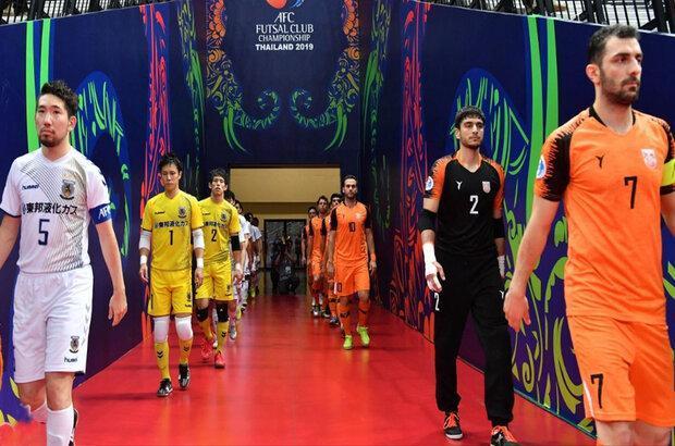 فوتسال جام باشگاه های آسیا رسما به تعویق افتاد